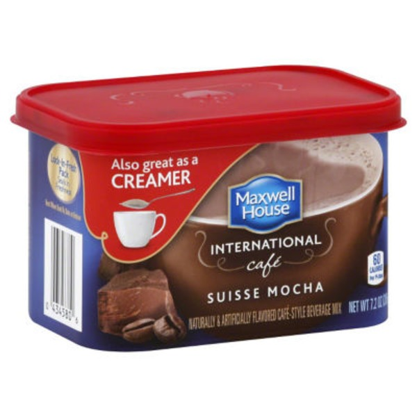 Maxwell House International Cafe Suisse Mocha Cafe Cafe-Style Beverage Mix