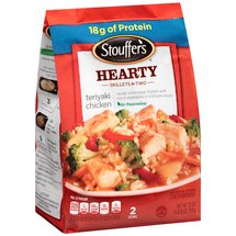 Stouffer's Skillets w/Sauce White Meat Chicken Rice & Vegetables Teriyaki Chicken