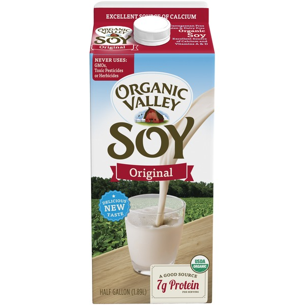 Organic Valley 64 oz UHT Original Soy Beverage