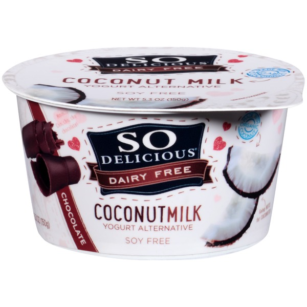 So Delicious Dairy Free Coconut Milk Chocolate Yogurt Alternative