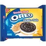 Nabisco Double Stuf Oreo Heads Or Tails Sandwich Cookies