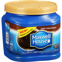 Maxwell House 100% Colombian Medium Dark Ground Coffee