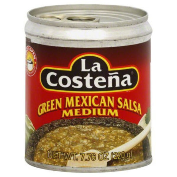 La Costeña Mexican Green Medium Salsa