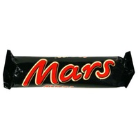 Mars Milk Chocolate With Soft Nougat And Caramel Center Candy Bar