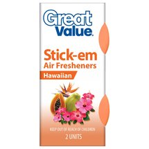 Great Value Hawaiian Stick-em Air Fresheners