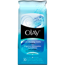 Olay Wet Cleansing Cloths Sensitive Fragrance-Free