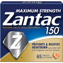 Zantac 150 Maximum Strength Tablets