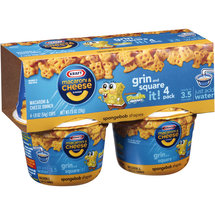 Kraft SpongeBob SquarePants Macaroni & Cheese Dinners
