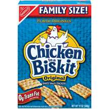 Nabisco Flavor Originals Chicken In A Biskit Snack Crackers