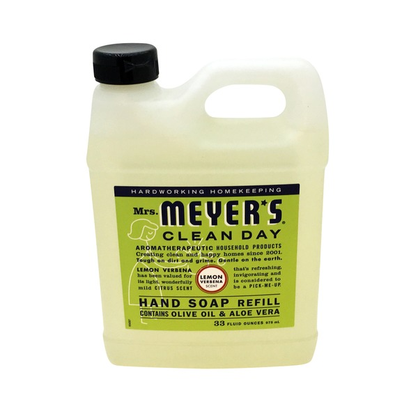 Mrs. Meyer's Lemon Verbena ScentLiquid Hand Soap Refill