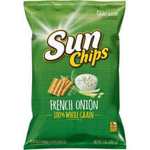 SunChips French Onion Flavored Multigrain Snacks