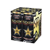 Rockstar Double Strength Energy Drink 4 Ct/64 Fl Oz