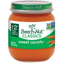 Beech Nut Tender Sweet Carrots Stage 2 Baby Food