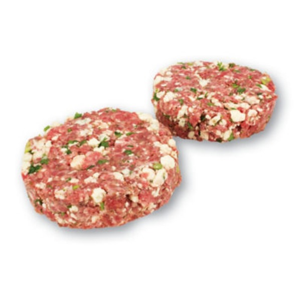 H-E-B Blue Cheese Seasoned Beef Burgers