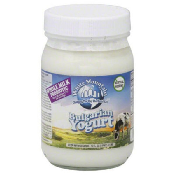 White Mountain Premium Bulgarian Yogurt