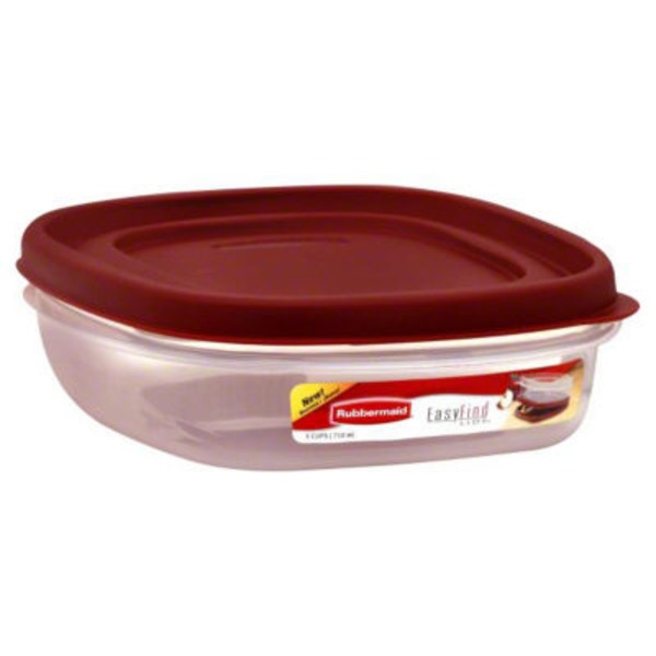Rubbermaid Easy Find Lids - 3 Cups