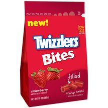 Twizzlers Bites Strawberry Filled Candy