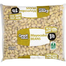 Great Value Dreid Mayocoba Beans