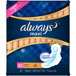 Always Maxi Overnight Flexi-Wings Pads