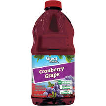 Great Value Grape Cranberry Juice Cocktail