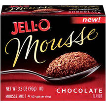 Jell-O Chocolate Mousse Mix