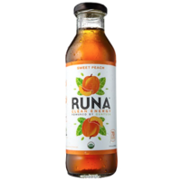 Runa Peach Tea Lightly Sweetened