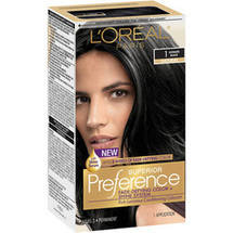 Superior Preference Fade-Defying Color & Shine System Ultimate Black Natural 1 Hair Color