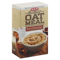 H-E-B Maple And Brown Sugar Instant Oatmeal