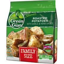Green Giant Steamers Roasted Potatoes with Garlic & Herb Sauce
