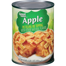 Great Value Apple Pie Filling Or Topping