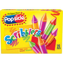 Popsicle Scribblers Assorted Flavors 1.2 oz Ice Pops
