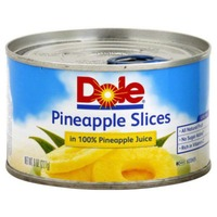 Dole Slices In 100% Pineapple Juice Pineapple