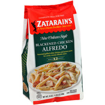 Zatarain's Meal For Two Blackened Chicken Alfredo Frozen