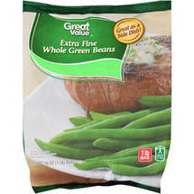 Great Value  Extra Fine Whole Green Beans