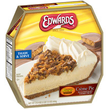 Edwards Reese's Creme Pie With Chocolatey Crust