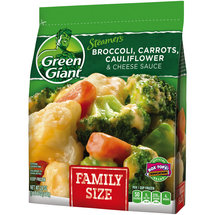 Green Giant Vegetables Broccoli Carrots Cauliflower & Cheese Sauce Family Size