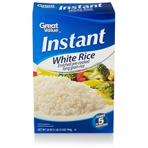 Great Value Instant White Rice
