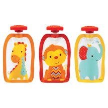 Infantino Fresh Squeeze Fashion Squeeze Pouches