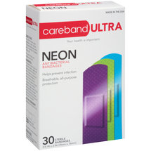 Carebrand Assorted Neon Bandages