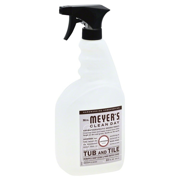 Mrs. Meyer's Tub and Tile, Lavender Scent
