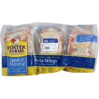 Foster Farms Fresh & Natural Party Wings, Wing Flats & Drumettes
