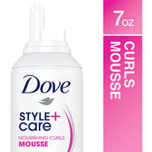 Dove Nourishing Curls Style Care Whipped Cream Mousse