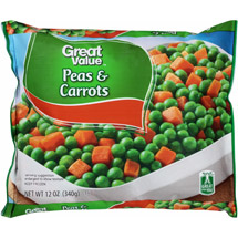 Great Value Peas & Carrots Frozen Vegetables