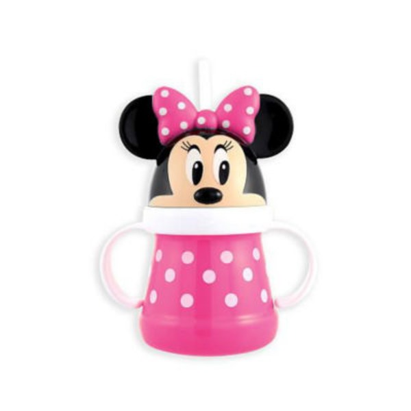 Sassy Minnie Mouse Straw Cup