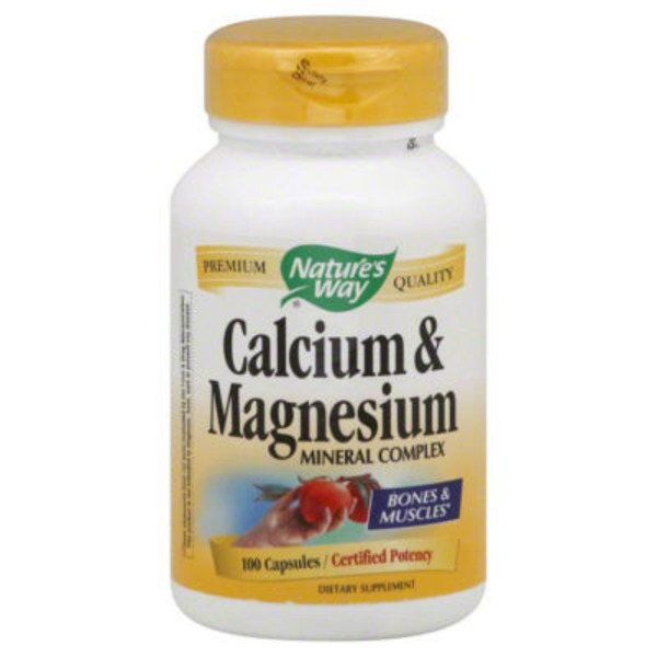 Nature's Way Calcium & Magnesium Capsules