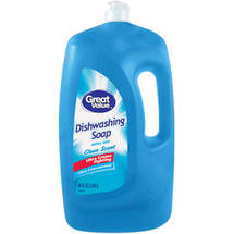 Great Value Clean Scent Ultra Concentrated Dishwashing Liquid
