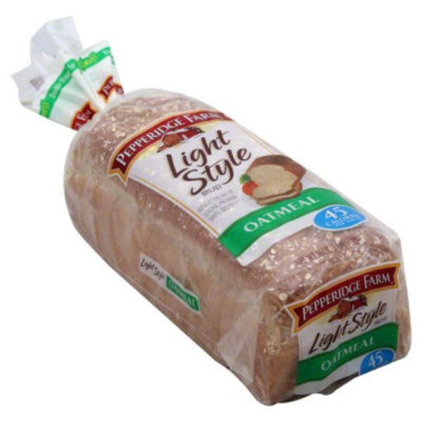 Pepperidge Farm Fresh Bakery Light Style Oatmeal  Bread