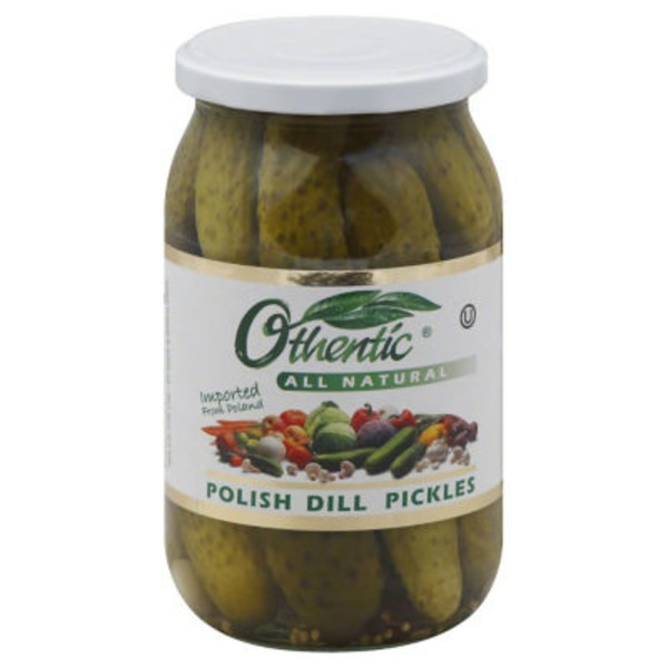 Othentic All Natural Polish Dill Pickles