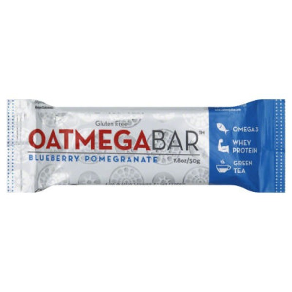 Oatmega Wild Blueberry Crisp Protein Bar
