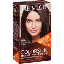 Revlon ColorSilk Beautiful Color Haircolor 27 Deep Rich Brown